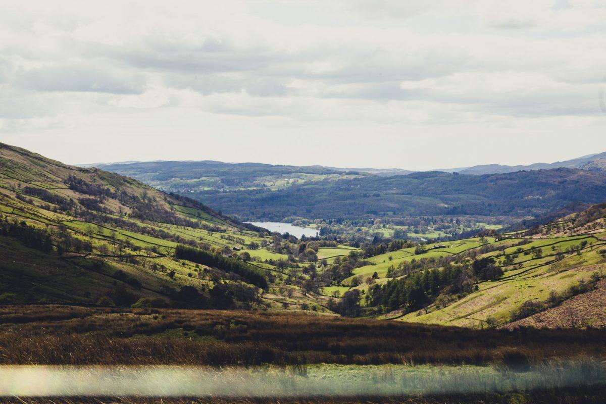 lake windermere, landscape