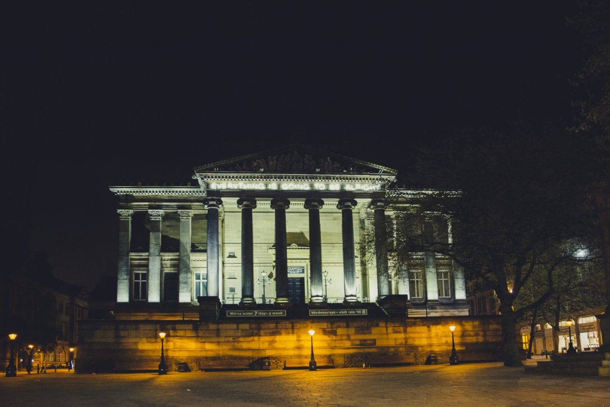 Preston Town Hall, central preston