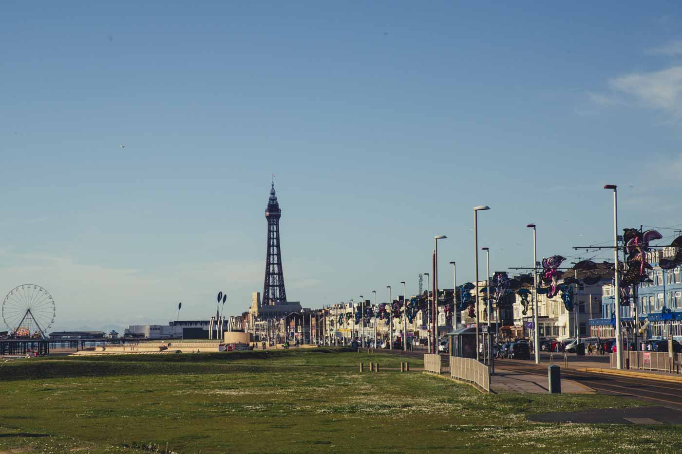 blackpool tower, south beach